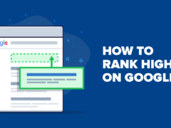 How to get the first ranking on Google