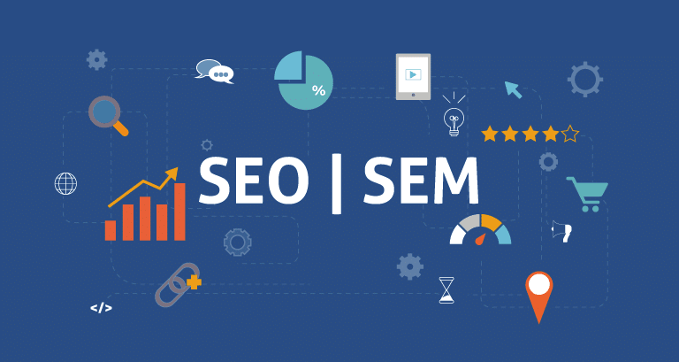 SEM and SEO differences in benefits and use