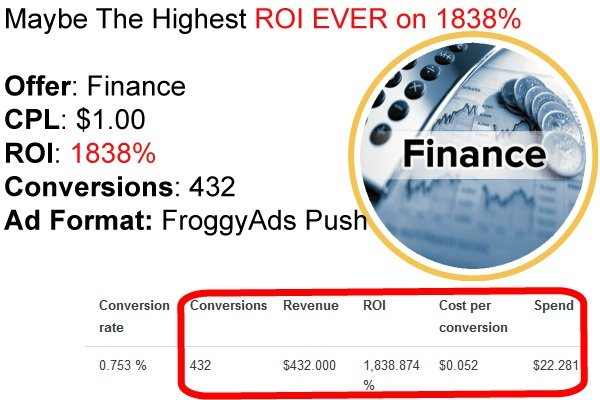 432 Conversions With Push Ads